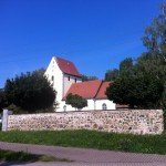 Kirche an der Parthe Mulde Radroute