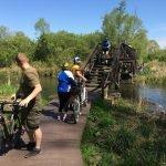 Brücke Fahrradtour Unterspreewald