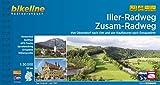 Iller-Radweg • Zusam-Radweg: Von Oberstdorf nach Ulm und von Kaufbeuren nach Donauwörth, 281 km (Bikeline Radtourenbücher)