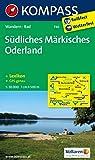 KOMPASS Wanderkarte Südliches Märkisches Oderland: Wanderkarte mit Kurzführer und Radwegen. GPS-genau. 1:50000: Wandelkaart 1:50 000 (KOMPASS-Wanderkarten, Band 746)