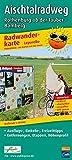Aischtalradweg, Rothenburg ob der Tauber - Bamberg: Leporello Radtourenkarte mit Ausflugszielen, Einkehr- & Freizeittipps, Entfernungen, Etappen, ... 1:50000 (Leporello Radtourenkarte / LEP-RK)