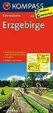 Erzgebirge: Fahrradkarte. GPS-genau. 1:70000: Fietskaart 1:70 000 (KOMPASS-Fahrradkarten Deutschland, Band 3088)