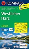 KOMPASS Wanderkarte Westlicher Harz: Wanderkarte mit Aktiv Guide und Radwegen. GPS-genau. 1:50000: Wandelkaart 1:50 000 (KOMPASS-Wanderkarten, Band 451)