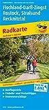 Fischland-Darß-Zingst, Rostock, Stralsund, Recknitztal: Radkarte mit Ausflugszielen, Einkehr- & Freizeittipps, wetterfest, reissfest, abwischbar, GPS-genau. 1:100000 (Radkarte / RK)