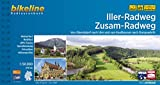 Iller-Radweg • Zusam-Radweg: Von Oberstdorf nach Ulm und von Kaufbeuren nach Donauwörth, 275 km, 1:50.000 (Bikeline Radtourenbücher)