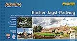 Kocher-Jagst-Radweg: Radwandern zwischen Aalen, Schwäbisch Hall, Bad Friedrichshall und Crailsheim. 1:50.000, 336 km, wetterfest/reißfest, GPS-Tracks Download, LiveUpdate (Bikeline Radtourenbücher)