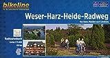 Bikeline Radtourenbuch Weser-Harz-Heide-Radweg: Von Hannoversch Münden nach Lüneburg, 416 km, Radtourenbuch 1 : 75.000, GPS-Tracks Download, wetterfest/reißfest