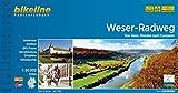 Weser-Radweg: Von Hann. Münden nach Cuxhaven, 1:50.000, 522 km, wetterfest/reißfest, GPS-Tracks Download, LiveUpdate (Bikeline Radtourenbücher)
