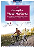 KOMPASS RadReiseFührer Weserradweg: von Hann. Münden bis Cuxhaven - 519 km, mit Extra-Tourenkarte, Reiseführer und exakter Streckenbeschreibung (KOMPASS-Fahrradführer, Band 6910)