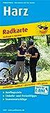 Harz: Radkarte mit Ausflugszielen, Einkehr- & Freizeittipps, wetterfest, reissfest, abwischbar, GPS-genau. 1:100000 (Radkarte: RK)