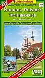 Radwander- und Wanderkarte Kamenz, Pulsnitz, Königsbrück und Umgebung: Ausflüge zwischen der Königsbrücker Heide, Elstra, Panschwitz-Kuckau, ... Werbeanzeigen! GPS-fähig (Schöne Heimat)