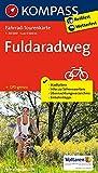Fahrrad-Tourenkarte Fuldaradweg: Fahrrad-Tourenkarte. GPS-genau. 1:50000. (KOMPASS-Fahrrad-Tourenkarten, Band 7039)