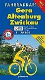 Fahrradkarte Gera, Altenburg, Zwickau: Mit Radwanderweg Thüringer Städtekette. Mit Tourentipps. Offizielle Karte des ADFC-Landesverbandes Thüringen. ... und reißfest (Fahrradkarten)