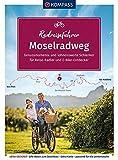 KOMPASS RadReiseFührer Moselradweg: von Perl bis Koblenz - 250 km, mit Extra-Tourenkarte, Reiseführer und exakter Streckenbeschreibung (KOMPASS-Fahrradführer, Band 6917)