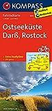 KOMPASS Fahrradkarte Ostseeküste, Darß, Rostock: Fahrradkarte. GPS-genau. 1:70000 (KOMPASS-Fahrradkarten Deutschland, Band 3019)