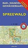Rad-, Wander- und Gewässerkarten-Set: Spreewald: Mit den Karten: 'Oberspreewald' und 'Unterspreewald'. Maßstab 1:35.000. Wasser- und reißfeste Karten. ... Berlin/Brandenburg / Maßstab 1:35.000)