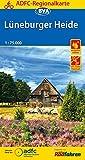 ADFC-Regionalkarte Lüneburger Heide, 1:75.000, reiß- und wetterfest, GPS-Tracks Download (ADFC-Regionalkarte 1:75000)
