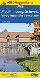 ADFC-Regionalkarte Mecklenburgische Schweiz Vorpommersche Seenplatte, 1:75.000 (ADFC-Regionalkarte 1:75000)