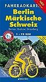 Fahrradkarte Berlin, Märkische Schweiz: Mit Bernau, Buckow, Strausberg und Radweg Tour Brandenburg. Mit UTM-Gitter für GPS. Wasser- und reißfest. Maßstab 1:75.000 (Fahrradkarten)