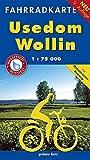 Fahrradkarte Usedom, Wollin: Mit Ostseeküsten-Radweg. Wasser- und reißfest. (Fahrradkarten)