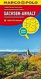 MARCO POLO Karte Deutschland Blatt 8 Sachsen-Anhalt 1:200 000: Wegenkaart 1:200 000 (MARCO POLO Karten 1:200.000)