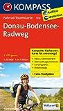 Fahrrad-Tourenkarte Donau-Bodensee-Radweg: Fahrrad-Tourenkarte. GPS-genau. 1:50000. (KOMPASS-Fahrrad-Tourenkarten, Band 7018)