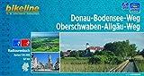 Bikeline Radtourenbuch, Donau-Bodensee-Weg. Oberschwaben-Allgäu-Weg, 1:50.000, 521 km, wetterfest/reißfest, GPS-Tracks Download