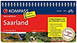 KOMPASS Fahrradführer Saarland: Fahrradführer mit Routenkarten im optimalen Maßstab.