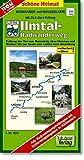 Radwander- und Wanderkarte Ilmtal-Radwanderweg: Entlang der Ilm vom Rennsteig über Stützerbach, Ilmenau, Stadtilm, Kranichfeld, Bad Berka und Weimar ... (mit Zick-Zack-Faltung) (Schöne Heimat)