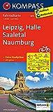 KOMPASS Fahrradkarte Leipzig - Halle - Saaletal - Naumburg: Fahrradkarte. GPS-genau. 1:70000 (KOMPASS-Fahrradkarten Deutschland, Band 3075)