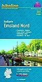 Bikeline Radkarte Emsland Nord (NDS05) 1 : 75 000
