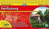 ADFC-Radreiseführer EmsRadweg 1:50.000, praktische Spiralbindung, reiß- und wetterfest, GPS-Tracks Download: Von Hövelhof nach Emden, mit ... von Dortmund nach Münster