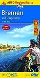 ADFC-Regionalkarte Bremen und Umgebung, 1:75.000, reiß- und wetterfest, GPS-Tracks Download (ADFC-Regionalkarte 1:75000)