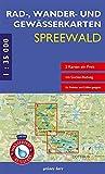 Rad-, Wander- und Gewässerkarten-Set: Spreewald: Mit den Karten: 'Oberspreewald' und 'Unterspreewald'. Maßstab 1:35.000. Wasser- und reißfeste Karten. ... Berlin/Brandenburg: Maßstab 1:35.000)
