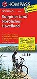 KOMPASS Fahrradkarte Ruppiner Land - Nördliches Havelland: Fahrradkarte. GPS-genau. 1:70000 (KOMPASS-Fahrradkarten Deutschland, Band 3028)