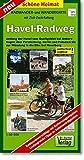 Havel-Radweg 1 : 50 000 Radwanderkarte mit Zick-Zack-Faltung (Schöne Heimat)