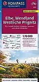 KOMPASS Fahrradkarte Elbe, Wendland, Westliche Prignitz 1:70.000, FK 3321: reiß- und wetterfest mit Extra Stadtplänen (KOMPASS-Fahrradkarten Deutschland, Band 3321)