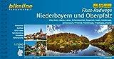 Flussradwege Niederbayern und Oberpfalz: Vils, Rott, Abens, Laber, Schambachtal, Regental, Naab, Haidenaab, Schwarzach, Pfreimd, Fichtelnaab, ... 1:75.000, 1.041 km (Bikeline Radtourenbücher)