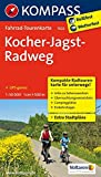 Kocher-Jagst-Radweg 1 : 50 000: Fahrrad-Tourenkarte. GPS-genau. 1:50000. (KOMPASS-Fahrrad-Tourenkarten, Band 7022)