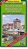 Radwander- und Wanderkarte Neustrelitz, Wesenberg und Umgebung: Ausflüge im östlichen Müritz-Nationalpark zwischen Lychen, Penzlin und Neubrandenburg. Maßstab 1:50 000 (Schöne Heimat)