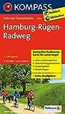 Hamburg-Rügen-Radweg 1 : 50 000 (KOMPASS-Fahrrad-Tourenkarten, Band 7019)