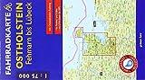 Fahrradkarte Ostholstein, Fehmarn bis Lübeck: Mit Ostseeküsten-Radweg. Maßstab 1:75.000. Wasser- und reißfest. (Fahrradkarten)