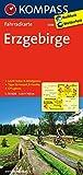 KOMPASS Fahrradkarte Erzgebirge: Fahrradkarte. GPS-genau. 1:70000: Fietskaart 1:70 000 (KOMPASS-Fahrradkarten Deutschland, Band 3088)
