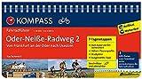 KOMPASS Fahrradführer Oder-Neiße-Radweg 2, Von Frankfurt an der Oder nach Usedom: Fahrradführer mit Routenkarten im optimalen Maßstab.