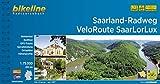 Saarland-Radweg • VeloRoute SaarLorLux: 1:75.000, 835 km (Bikeline Radtourenbücher)