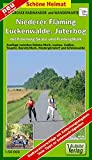 Große Radwander- und Wanderkarte Niederer Fläming, Luckenwalde, Jüterbog, mit Flaeming-Skate® und FlämingWalk®: Ausflüge zwischen Schönewalde, Dahme, ... und Niedergörsdorf. 1:50000 (Schöne Heimat)