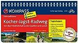 KOMPASS Fahrradführer Kocher-Jagst-Radweg - Von Bad Friedrichshall zu den Quellen und zurück: Fahrradführer mit Routenkarten im optimalen Maßstab.