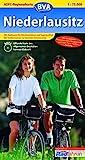 ADFC-Regionalkarte Niederlausitz mit Tagestouren-Vorschlägen, 1:75.000: Mit kompletter Niederlausitzer Bergbautour und Fürst-Pückler-Radweg (ADFC-Regionalkarte 1:75000)