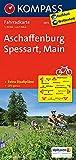 KOMPASS Fahrradkarte Aschaffenburg - Spessart - Main: Fahrradkarte. GPS-genau. 1:70000 (KOMPASS-Fahrradkarten Deutschland, Band 3072)