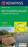Müritz Nationalpark, Westlicher Teil: 1:50.000. Wanderkarte mit Kurzführer und Radwegen. GPS-geeignet